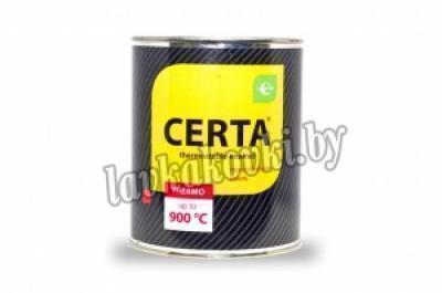 """Эмаль """"Certa"""" термостойкая 0,4 кг"""