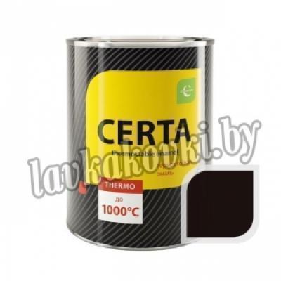 """Эмаль """"Certa"""" термостойкая 0,8 кг до 1000°С"""