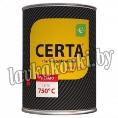 """Эмаль """"Certa"""" термостойкая 0,8 кг до 750°С"""