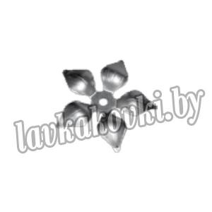 14.020 Декоративный элемент Цветок пятиконечный