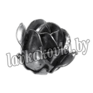 14.035.03 Кованый элемент бутон розы