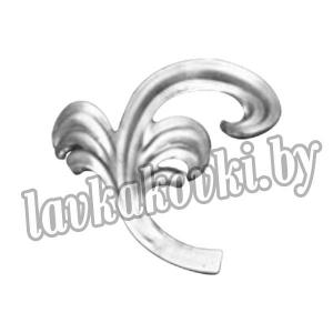 14.292.12-Т и 14.292.13-Т Декоративный элемент штампованный лист (пара)