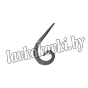 Кованая завиток из квадрата 12х12 01.409-S