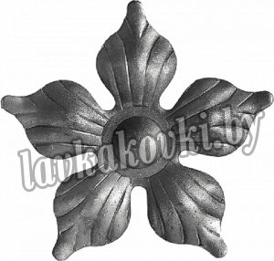 Цветок Ø95 1,5 мм штамп, 12-7116