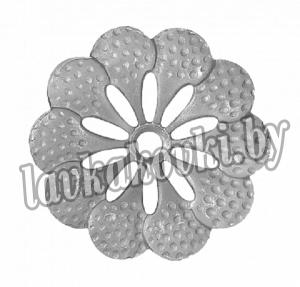 Цветок Ø68 1,0 мм штамп, 12-7419