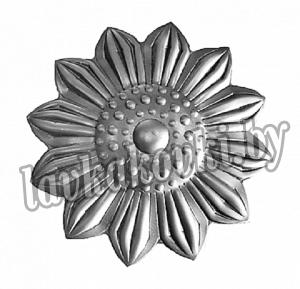 Цветок Ø75 1,5 мм штамп, 12-7437