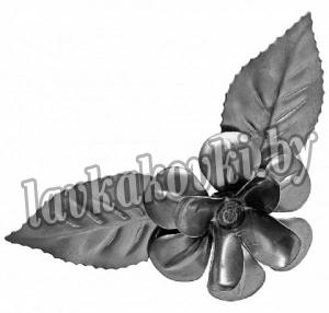 Цветок 25 Ø90*1 мм, штамп, 1406/6