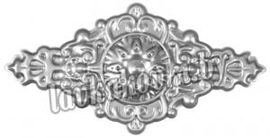 Декоративный элемент накладка, штамп 14.721.01