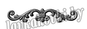 Декоративный элемент накладка, штамп 14.734.01