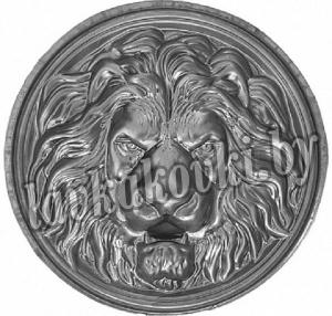 Голова льва Ø150*1 мм, штамп, 6302,01