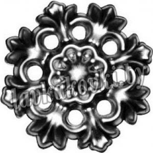 Накладка Ø120*1,5 мм, штамп, 1593.01