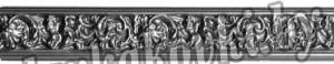 Накладка декоративная полоса 80*1000 мм, штамп, 19562