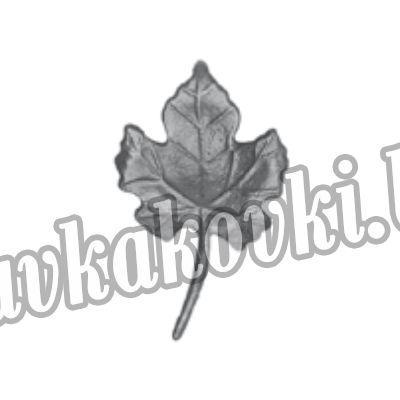 14.039.14 Лист виноградный малый (литой)